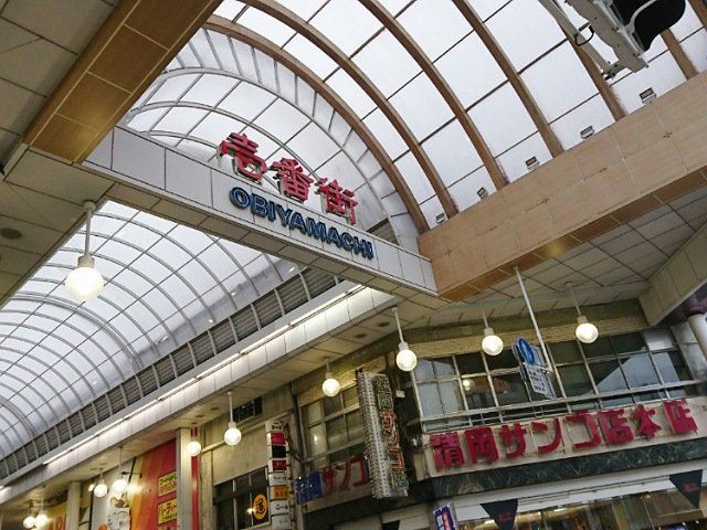 高知市内の商店街