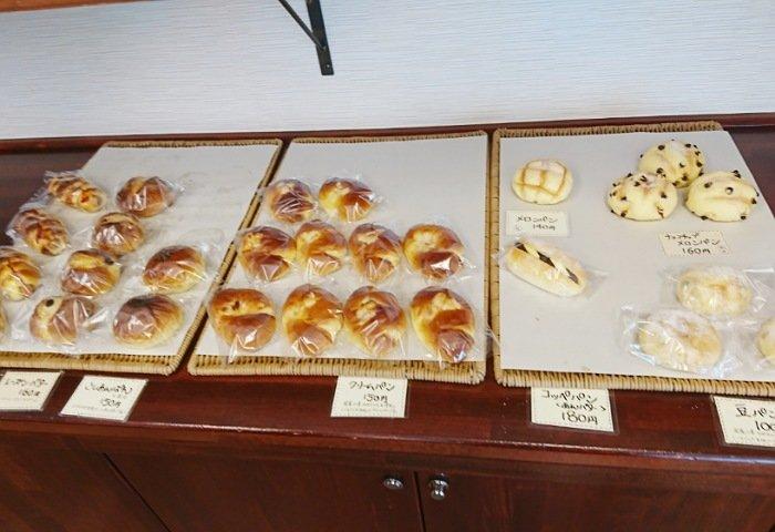 山崎屋パン店のメニュー