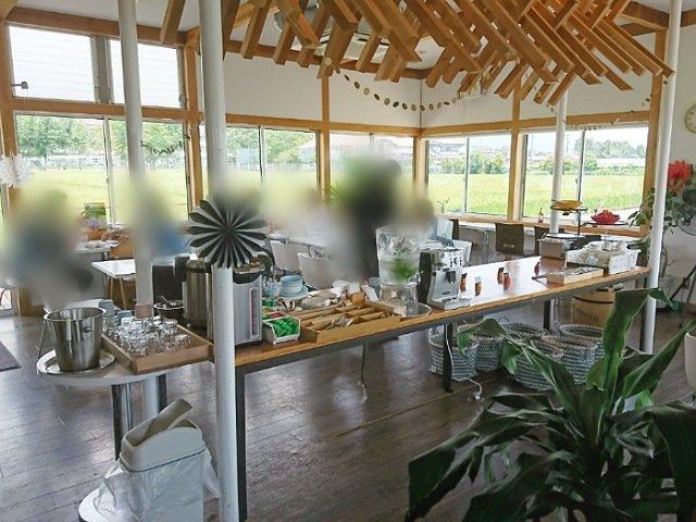 畑の食堂Copan(コパン):店内