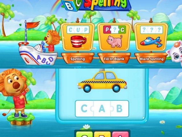 子供向け英単語学習アプリABC Spelling