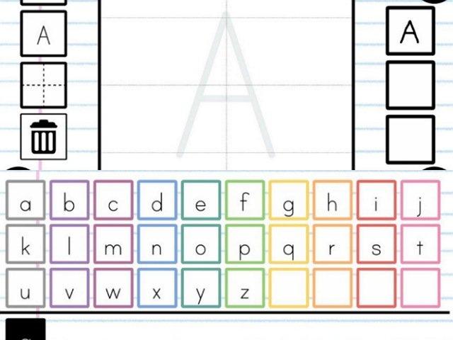 【アルファベットかこうよ!】なぞり書き練習に特化したアプリ