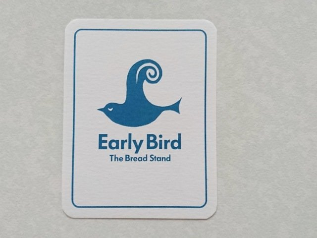 Early Bird The Bread Stand:ショップカード1
