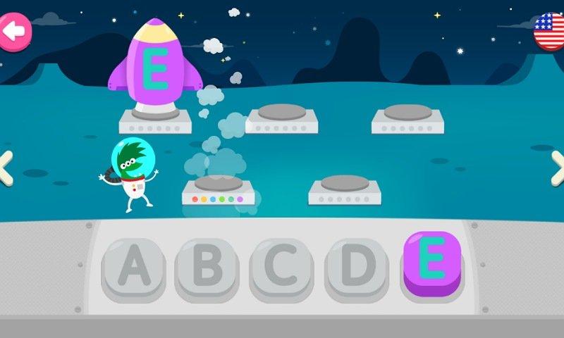 PINKFONGはじめてのなぞり書きアプリ:ミニゲーム2