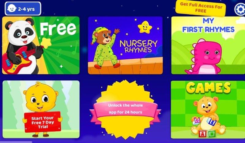 子ども向け英語教育アプリKidloLand