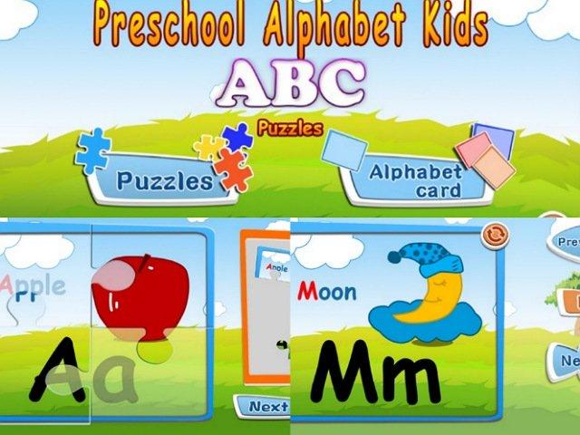 「アルファベットのジグソーパズル&フラッシュカードのゲーム」をレビュー
