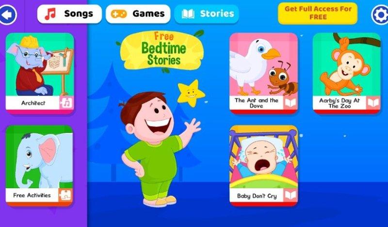 子ども向け英語教育アプリKidloLand:ストーリー・絵本