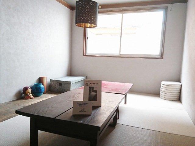 カワクボコーヒーの2階の和室