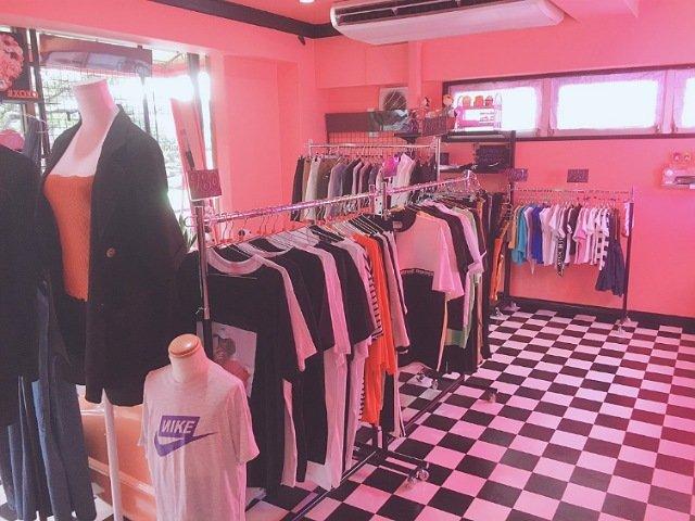 D'shouseの韓国ファッション