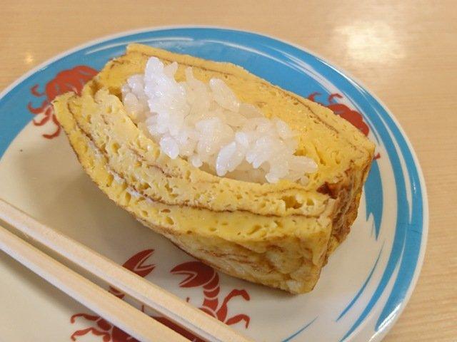 天天丸:たまご寿司