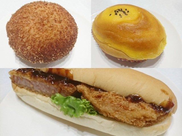 マルナカの店内にあるパン屋さん!種類も多くて特にハムカツが最高