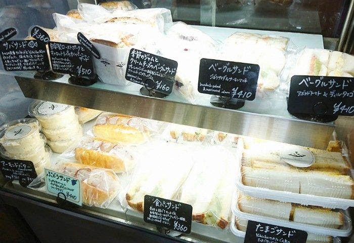 ゆきんこ ベーカリーカフェ:サンドウィッチ
