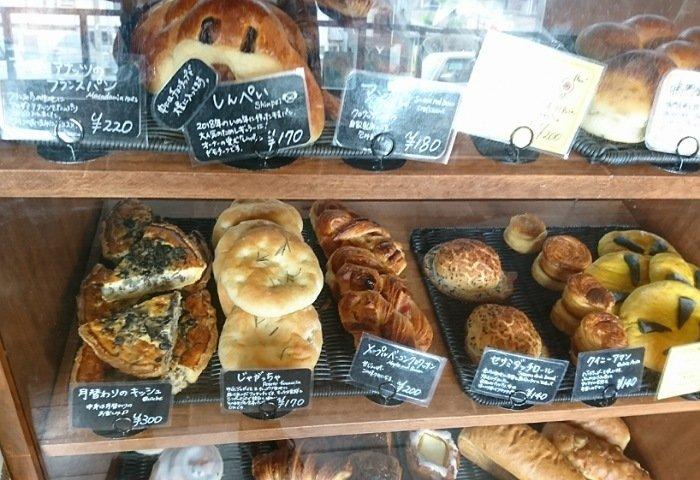 ゆきんこ ベーカリーカフェ:パンの種類2