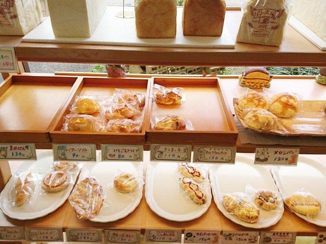 パン広場2001:パンの種類1