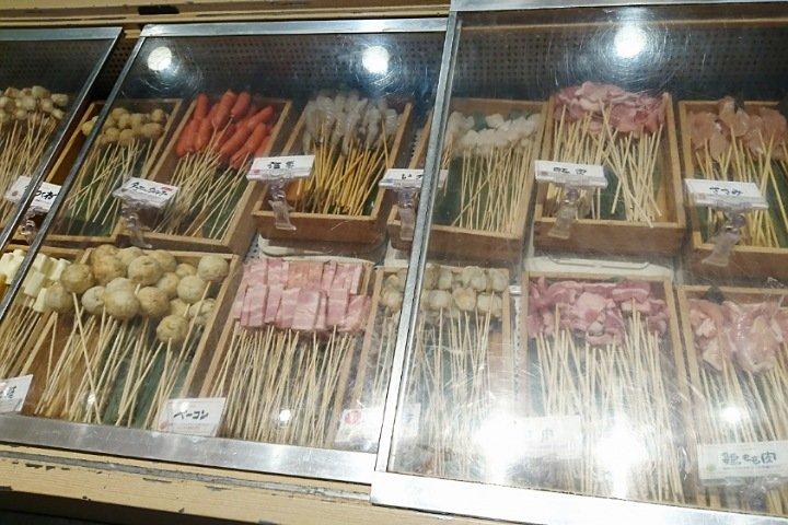 串家物語イオン高知店:串の種類2