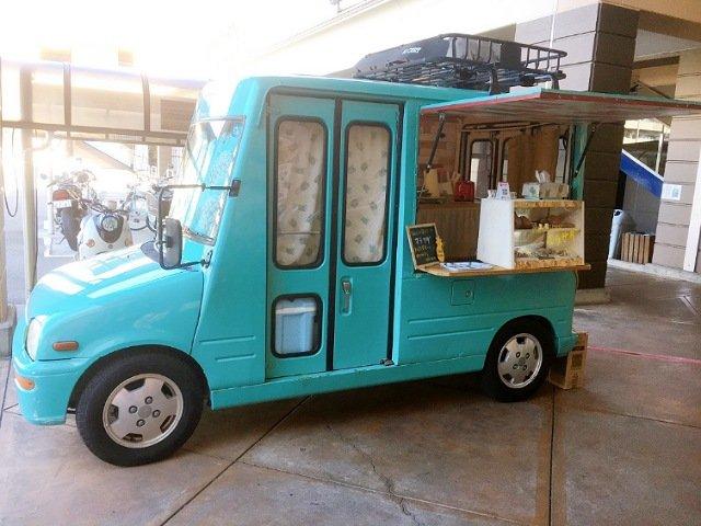 高知のキッチンカー「IslandJuice」:移動販売車外観