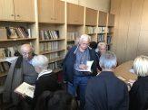 Στην βιβλιοθήκη του Πολιτιστικού Συλλόγου της Χωριστής Δράμας
