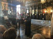 Ο ιερέας του Ιερού Ναού των Εσοδίων της Θεοτόκου στην Χωριστή Δράμας αναφέρεται στο ιστορικό του Ναού