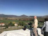 Ο κ. Ι. Αθανασιάδης στο οχυρό ΛΙΣΣΕ