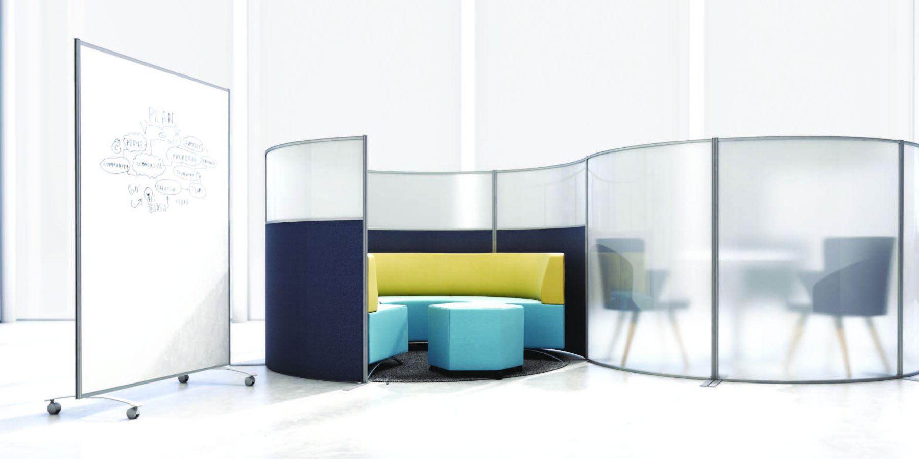 education style seating area