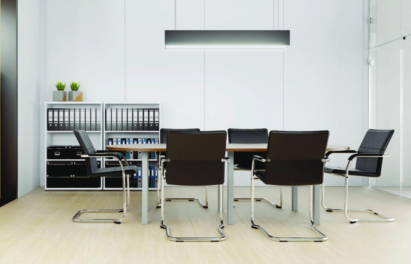 simplistic seating area
