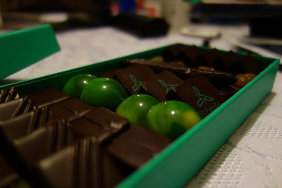 boîte de chocolats patrick roger paris