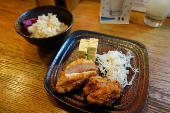 poulet fris et omelette restaurant japonais paris opéra