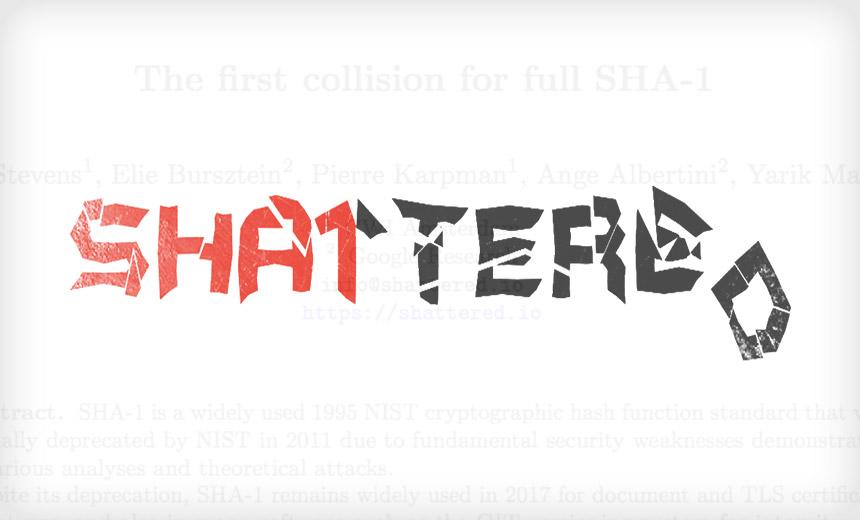 SHA-1 Has Fallen