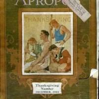 Apropos Magazine, by the Auto Club of Missouri, 1922
