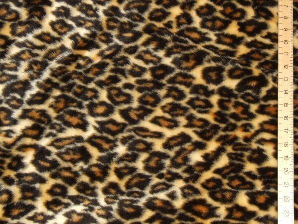 Fur Fabric  Leopard Print