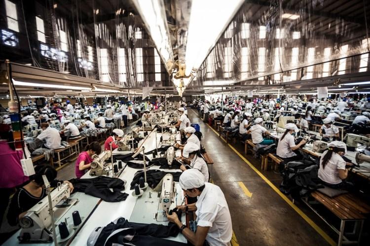 Fabrica de confecção de roupas