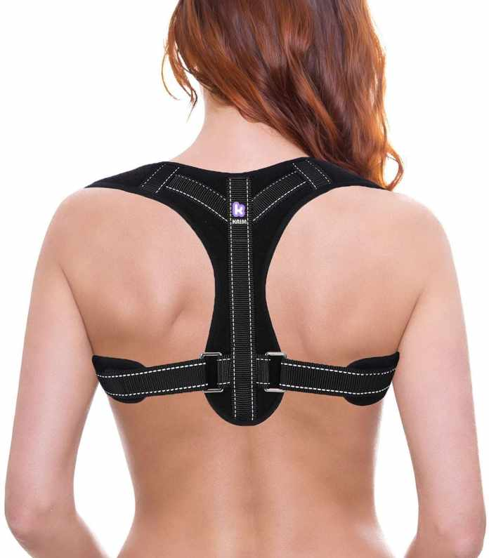 KRIM Metallic Plate Support Posture Corrector