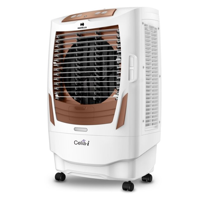Havells Celia I Desert Air Cooler - 55 liters (White, Brown)