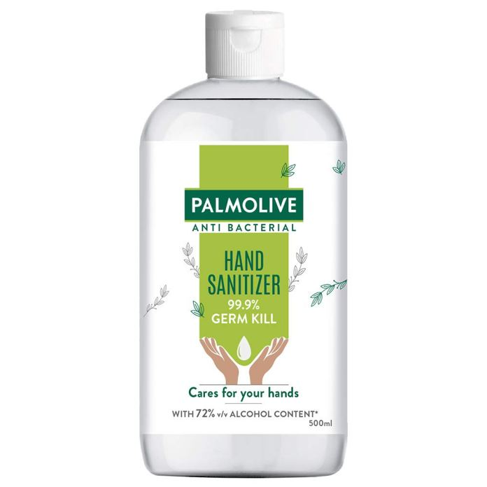 Palmolive Hand Sanitizer India – 72% Alcohol Based Sanitizer