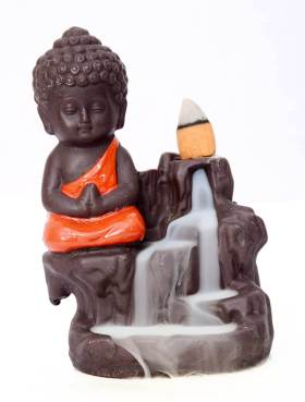 Decora Craft Poly Resin Buddha Smoke Fountain