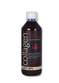 Collagen Power Pro Active Liquid Strawberry 600ml