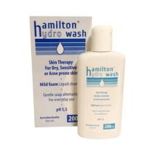 Hamilton Hydro Wash Mild Foam Liquid Cleanser pH5,5 200ml