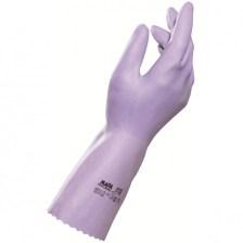 Mapa Jersetlite Λεπτά Γάντια Εργασίας από Φυσικό Latex με Βαμβακερή Επένδυση 1ζευγάρι