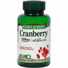 Nature's Bounty Cranberry 4200mg 50 καψούλες