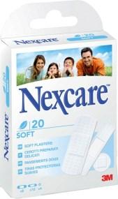 3M Nexcare 20 Soft Plasters