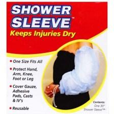 Acu-life Shower Sleeve, Προστατευτική-Αδιάβροχη Μεμβράνη για Όλα τα Μεγέθη 1τεμ
