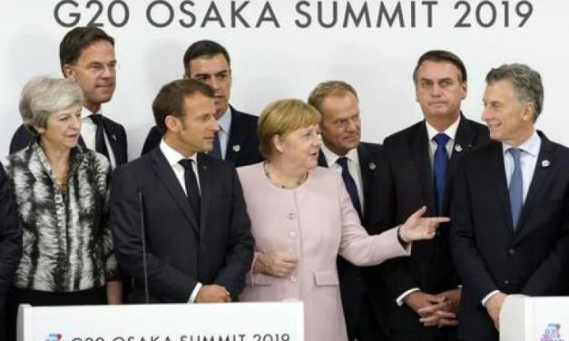 Do Macron and other European leaders help next Argentine government to freeze the FTA EU-Mercosur?