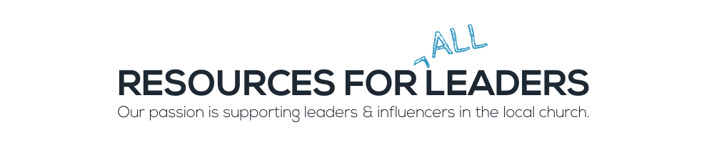 Copy of RESOURCES FOR LEADERS