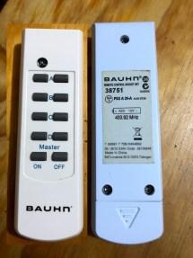 BAUHN Remote Control