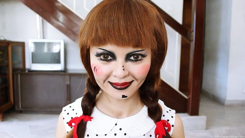 Annabelle The Doll Makeup Tutorial