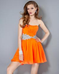 Orange Short Prom Dresses | Cocktail Dresses 2016
