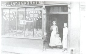 Holland and Barrett in Waltham Abbey with staff in the doorway.