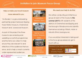 Museum BAME focus group invitation - Page 1