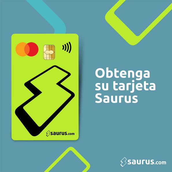 Puedes solicitar tu tarjeta Mastercard Saurus.com