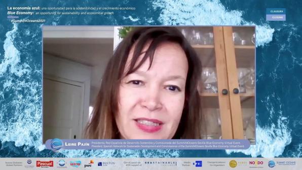 La presidenta de la Red Española del Desarrollo Sostenible, Leire Pajín.