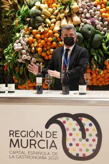MADRID (ESPAÑA), 1/06/2021.presentación de la Capitalidad Gastronómica de la Región de Murcia en Madrid Fusión 2021. EFE/ Javier Liaño